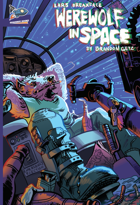 Lars Breaxface: Werewolf in Space
